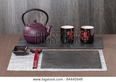 Place Setting For Japanese Meal