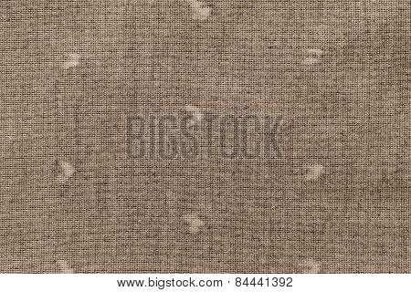 Texture Knitted Fabric Of Pale Brown Color