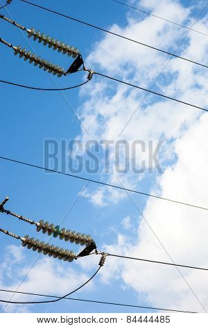 Insulators Of The High-voltage Electric Power Transmission