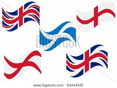Flag England Scotland