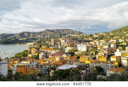 Aerial View Of Lerici