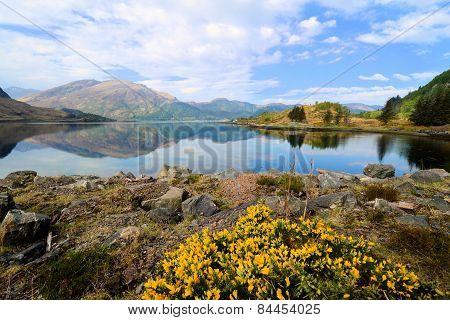 Lochs and highlands of Scotland