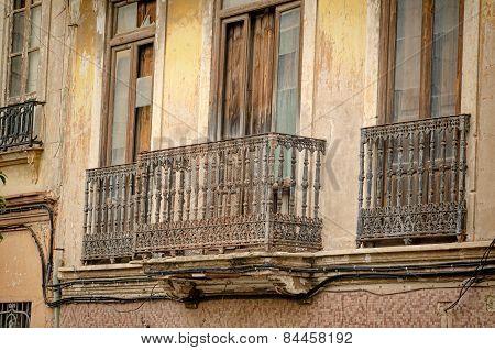 Valencia Cabanyal District Facade