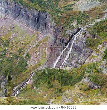 Grinnell Falls, Glacier National Park