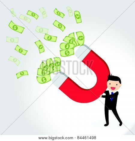 Money Magnet Concept