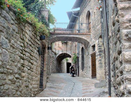 brick passage