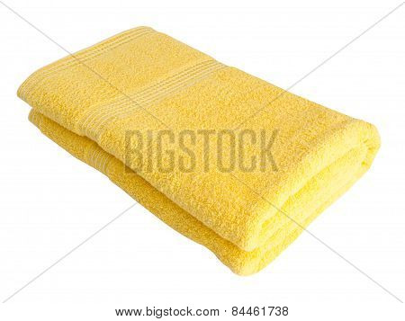 Towel. Towel On Background. Towel On A Background.