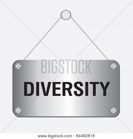 silver metallic diversity