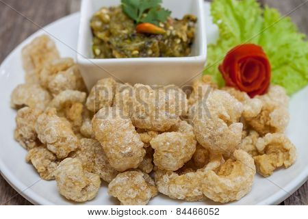 Deep Fried Pork Skin