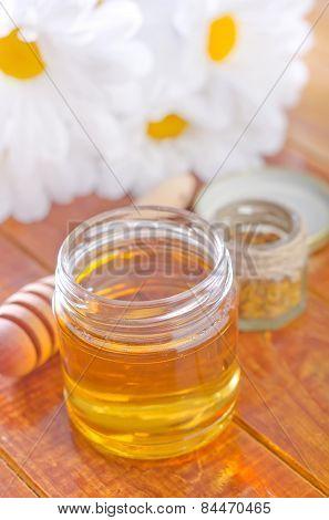 honey in bank
