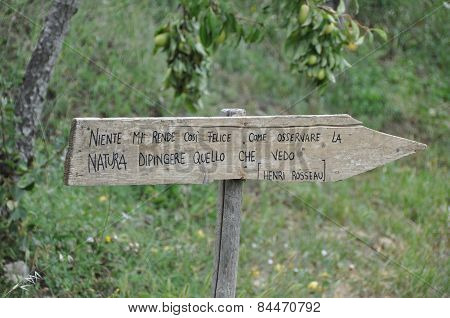 directions for nature
