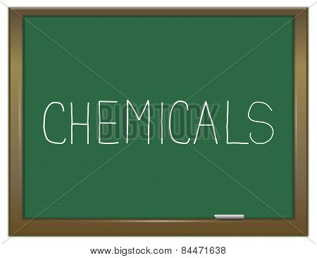 Chemicals Concept.