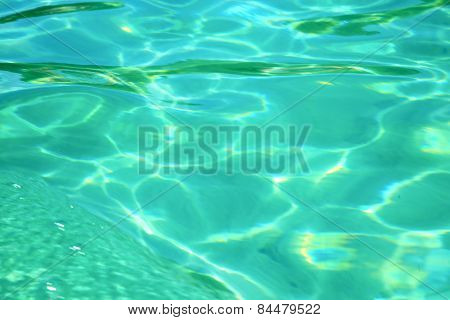 Thailand   Water  Kho Tao Bay Abstract