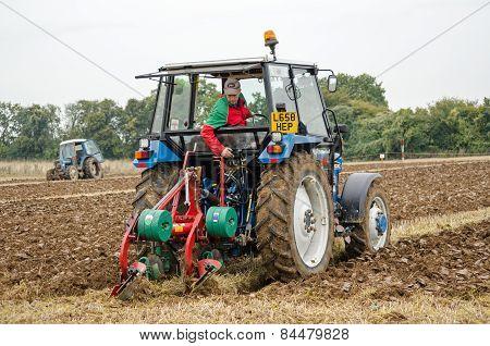 Aled Morgan Ploughing