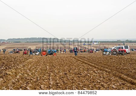 Ploughing Competition field
