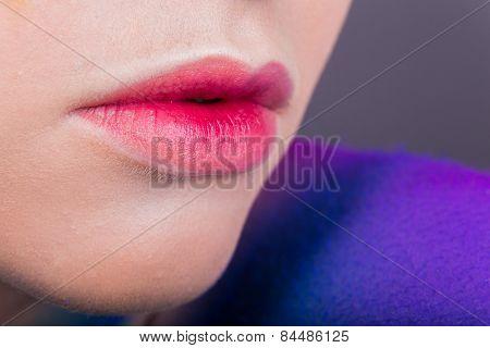 Professionally lip make-up