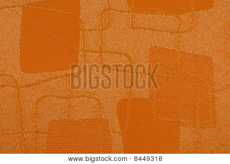 textured orange fabric