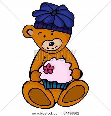 cute Bear. Fun zoo