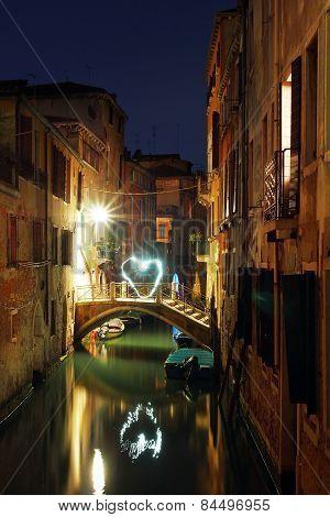 Romantic Night Venice