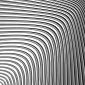 foto of distort  - Design monochrome movement illusion background - JPG