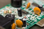 stock photo of capacitor  - Close - JPG