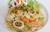 foto of thai food  - Fried Thai Mama Instant Noodles - JPG