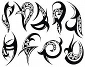 pic of tribal  - Abstract design decorative elements  - JPG