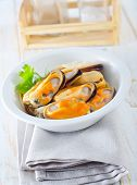 ������, ������: mussels