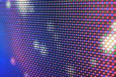 stock photo of diodes  - LED screen  - JPG