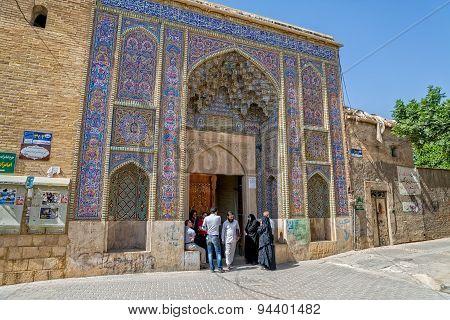 Nasir al-Mulk Mosque Entrance