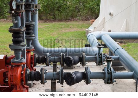 Water Pumping And Pipes
