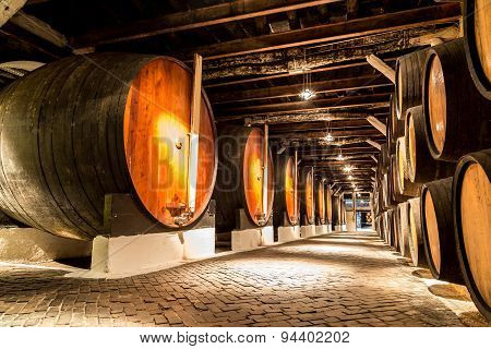 Barrels In  Porto, Portugal