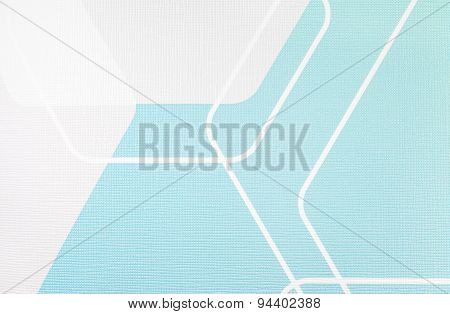 Regular Geometric Fabric Texture Light Blue And White Background, Cloth Pattern