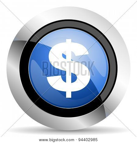 dollar icon us dollar sign original modern design for web and mobile app on white background
