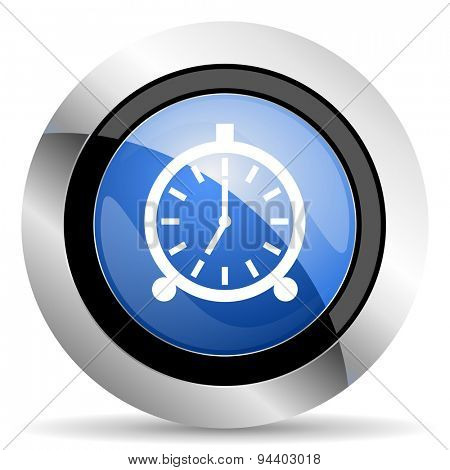 alarm icon alarm clock sign original modern design for web and mobile app on white background