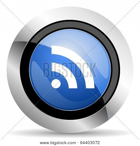 rss icon  original modern design for web and mobile app on white background