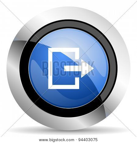exit icon  original modern design for web and mobile app on white background