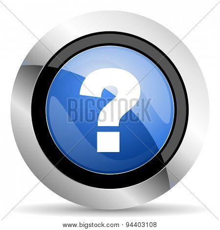 question mark icon ask sign original modern design for web and mobile app on white background