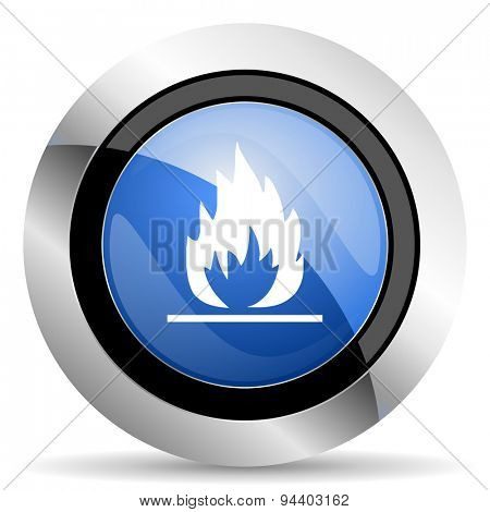 flame icon  original modern design for web and mobile app on white background