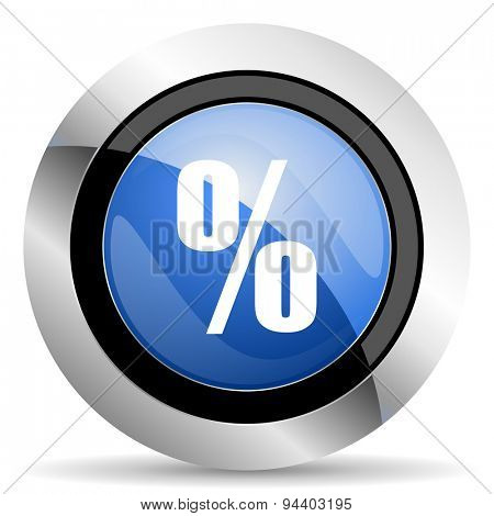 percent icon  original modern design for web and mobile app on white background