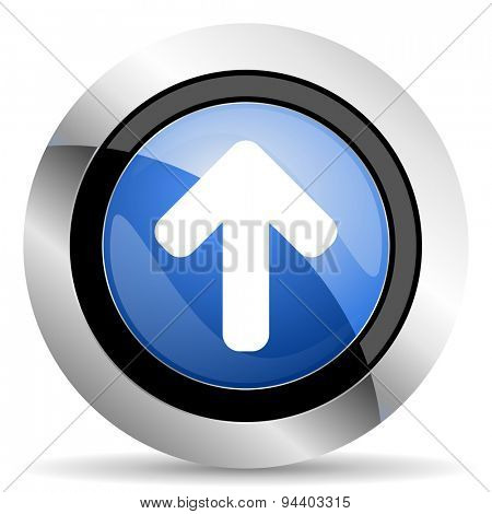 up arrow icon arrow sign original modern design for web and mobile app on white background