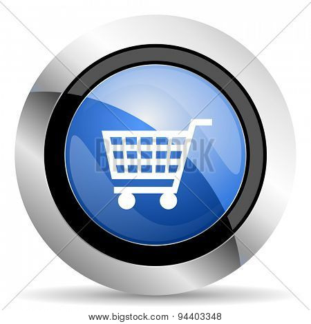 cart icon shop sign original modern design for web and mobile app on white background