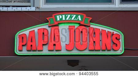 Papa John's Store Logo