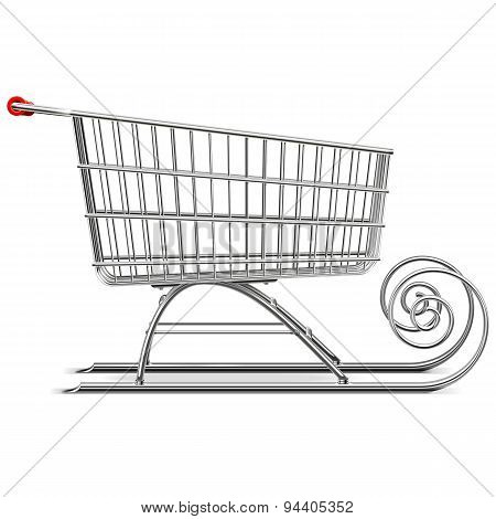 Vector Supermarket Sleigh