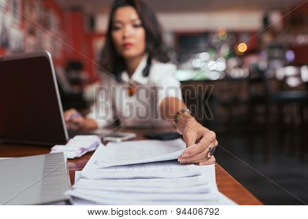 Working with financial documents