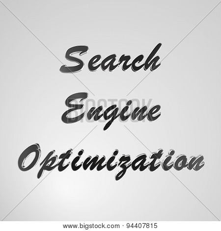 3D Text Search Engine Optimization
