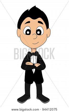 High Society Boy Cartoon