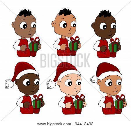 Christmas Babies Cartoon