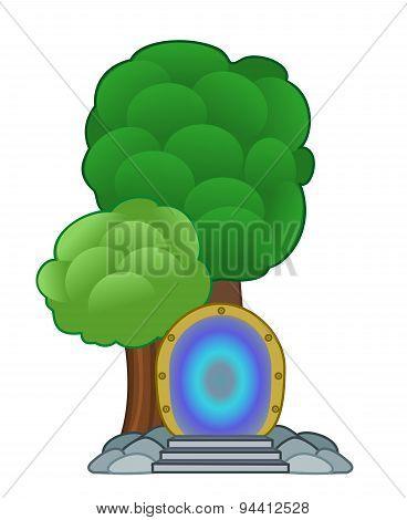 Magical Portal Cartoon