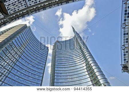 Unicredit Tower In Piazza Aulenti